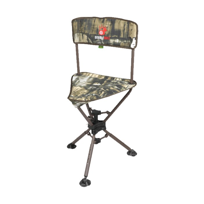 Primos Swivel Tri Stool Double Bull Camo