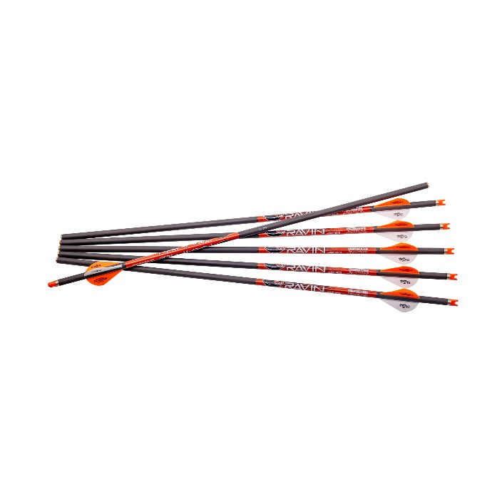 Ravin 6PK Arrows Orange Nocks .003