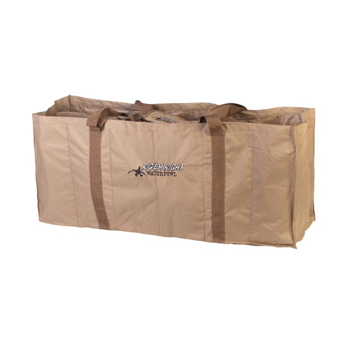 Rig 'em Right 12 Slot Floater Decoy Bag