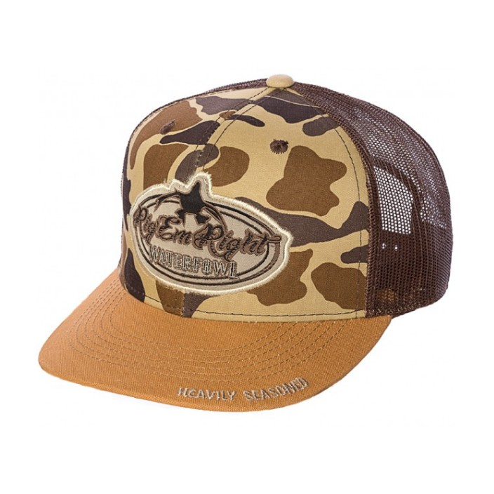 Rig 'em Right Camo Hat