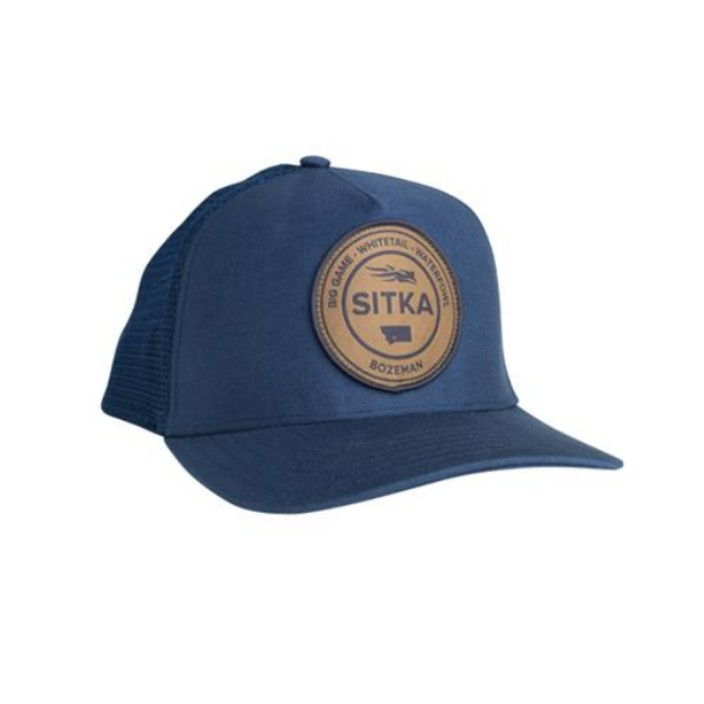 Sitka Seal Five Panel Patch Trucker