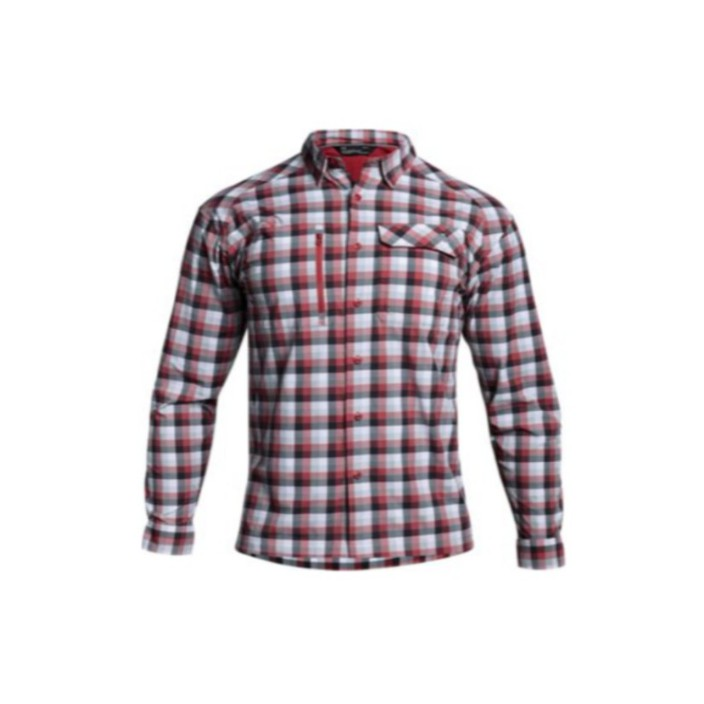 Under Armour Men's Fish Hunter Plaid Long-Sleeve Shirt