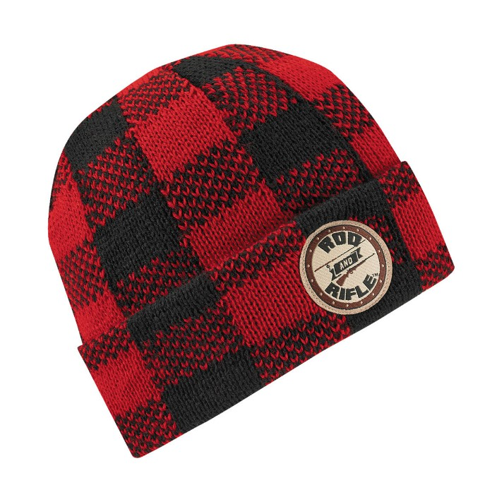 Wigwam Rod Rifle Buffalo Plaid Beanie