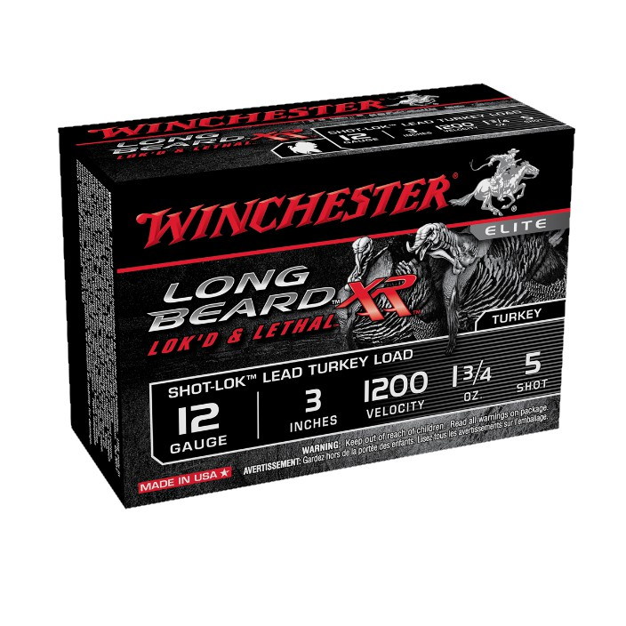 "Winchester Long Beard XR Turkey Load STLB1235 12G 3"" 5 Shot"