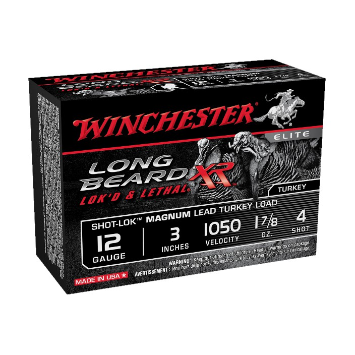 Winchester Long Beard XR Turkey Load STLB123M4 12G 3'' 17/8 #4